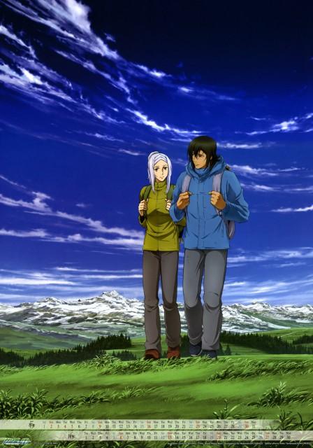 Sunrise (Studio), Mobile Suit Gundam 00, Soma Peries, Allelujah Haptism, Calendar