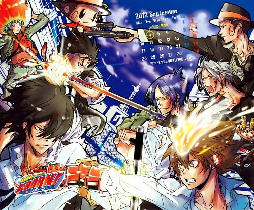 Akira Amano, Artland, Katekyo Hitman Reborn!, Kyoya Hibari, Xanxus