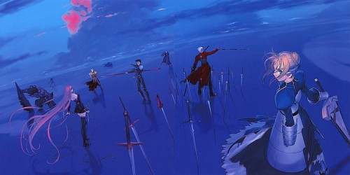 TYPE-MOON, TYPE-MOON 10th Anniversary Phantasm, Fate/stay night, Gilgamesh (Fate/stay night), Saber