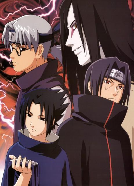 Studio Pierrot, Naruto, Kabuto Yakushi, Sasuke Uchiha, Itachi Uchiha