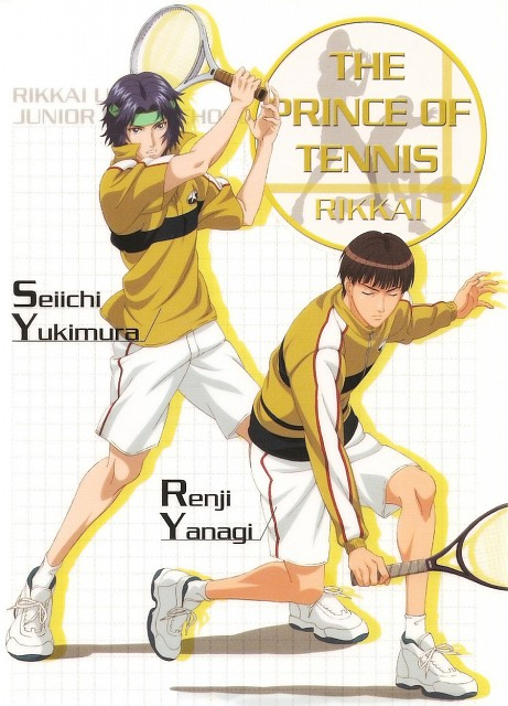 Takeshi Konomi, J.C. Staff, Prince of Tennis, Renji Yanagi, Seiichi Yukimura