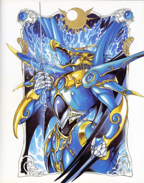 CLAMP, TMS Entertainment, Magic Knight Rayearth, Magic Knight Rayearth 2 Illustrations Collection, Selece