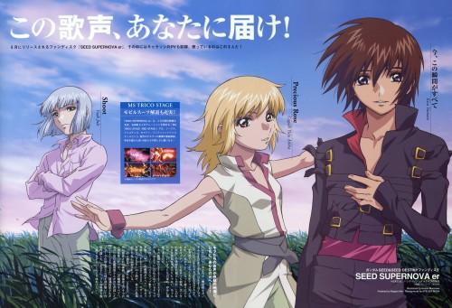 Sunrise (Studio), Mobile Suit Gundam SEED Destiny, Yzak Joule, Cagalli Yula Athha, Kira Yamato