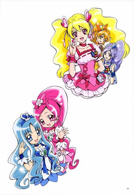 Futago Kamikita, HeartCatch Precure!, Fresh Precure!, Futago Kamikita All Precure Illustration Collection, Cure Pine