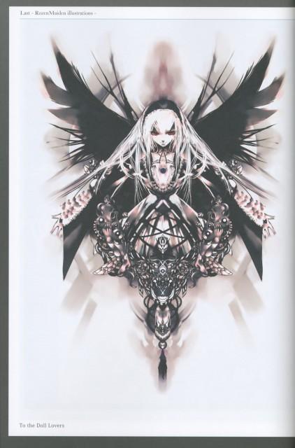 Peach-Pit, KEI, Rozen Maiden, Lost Rozen Maiden Illustrations, Suigintou