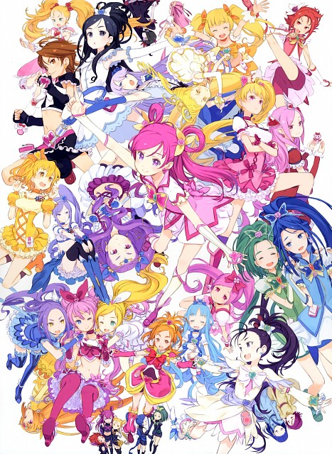 Kouhaku Kuroboshi, Precure All Stars, GRANADA LEVEL P , Cure Berry, Cure Dream