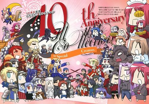 TYPE-MOON, TYPE-MOON 10th Anniversary Phantasm, Fate/stay night, Saber