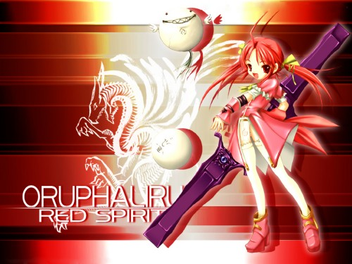 Xuse, Eien no Aselia, Oruphaliru Redspirit Wallpaper