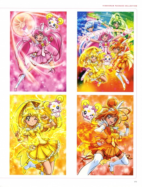 Toei Animation, Smile Precure!, Kawamura Toshie Toei Precure Works, Cure Happy, Cure March