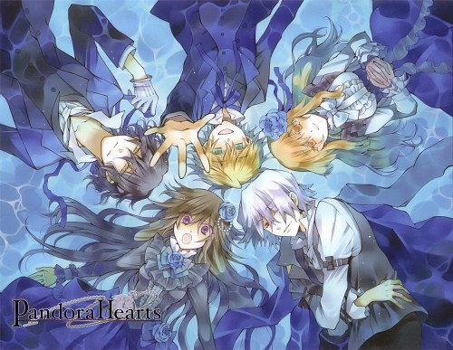 Jun Mochizuki, Xebec, Pandora Hearts, Xerxes Break, Oz Vessalius
