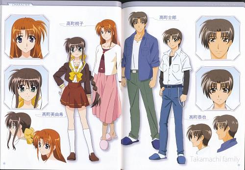 Seven Arcs, Mahou Shoujo Lyrical Nanoha, Momoko Takamachi, Shirou Takamachi, Miyuki Takamachi