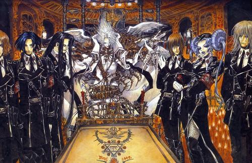 Shibamoto Thores, Gonzo, Trinity Blood, Fabrica Theologiae, Balthasar Von Neumann