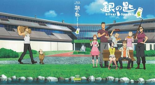 Hiromu Arakawa, Gin no Saji, Ichiro Komaba, Aki Mikage (Gin no Saji), Yugo Hachiken