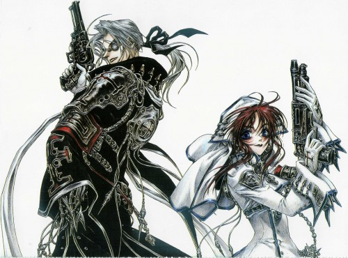 Gonzo, Trinity Blood, Abel Nightroad, Esther Blanchett