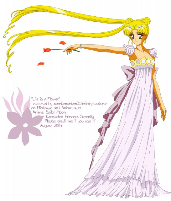 Toei Animation, Bishoujo Senshi Sailor Moon, Princess Serenity, Vector Art