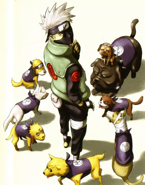 Studio Pierrot, Naruto, Pakkun, Kakashi Hatake