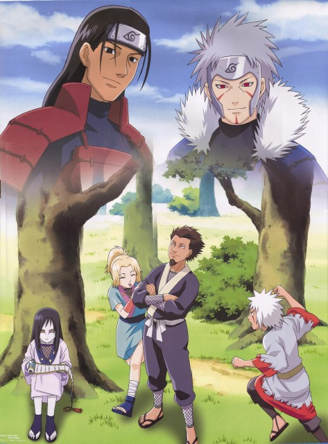 Studio Pierrot, Naruto, Jiraiya , Orochimaru, Hiruzen Sarutobi