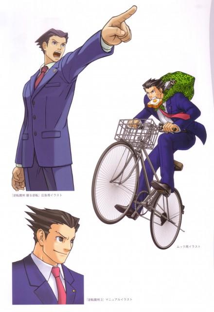 Capcom, Art of Gyakuten Saiban - Naruhodou, Ace Attorney, Phoenix Wright
