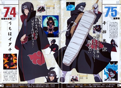 Studio Pierrot, Naruto, Naruto Juunen Hyakunin, Itachi Uchiha, Kisame Hoshigaki
