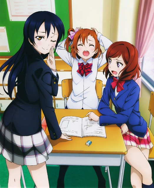 Sunrise (Studio), Love Live! Perfect Visual Collection - Smile, Love Live! School Idol Project, Maki Nishikino, Honoka Kosaka
