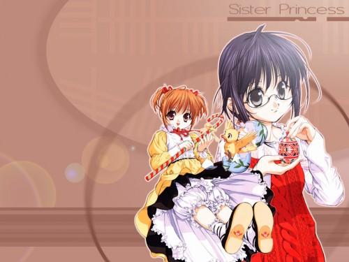 Naoto Tenhiro, Sister Princess, Marie (Sister Princess), Hinako Wallpaper