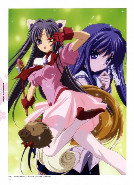 Kazumi Ikeda, Kyoto Animation, Clannad, Botan (Clannad), Kyou Fujibayashi