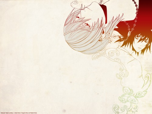Takeshi Obata, Madhouse, Death Note, Light Yagami, L Wallpaper