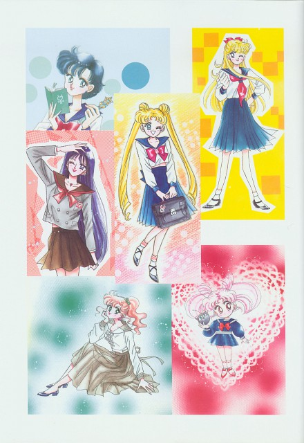 Naoko Takeuchi, Bishoujo Senshi Sailor Moon, BSSM Original Picture Collection Vol. II, Makoto Kino, Luna-P