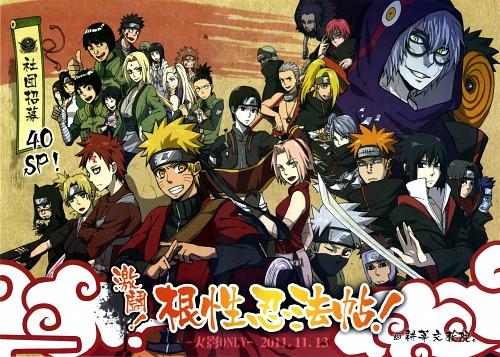 Naruto, Sakura Haruno, Yamato , Neji Hyuuga, Kankuro