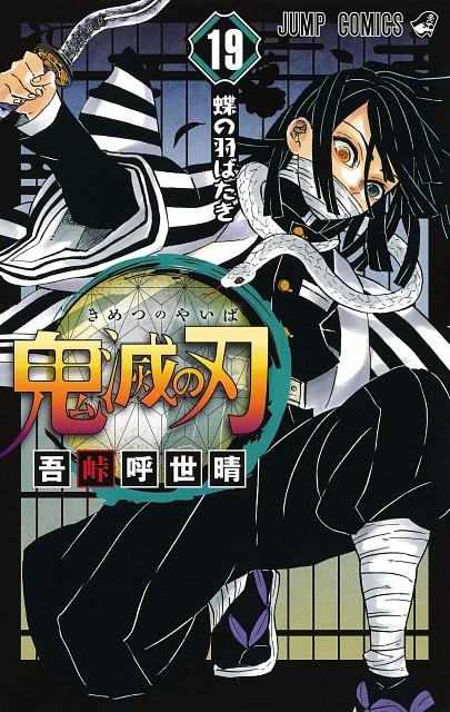 Koyoharu Gotouge, Ufotable, Kimetsu no Yaiba, Obanai Iguro, Manga Cover