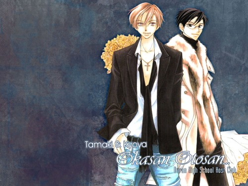 Hatori Bisco, BONES, Ouran High School Host Club, Tamaki Suoh, Kyoya Ootori Wallpaper