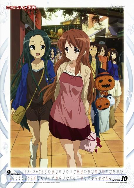 Chiyoko Ueno, Kyoto Animation, The Melancholy of Suzumiya Haruhi, Suzumiya Haruhi No Shoushitsu 2011 Calendar, Ryoko Asakura