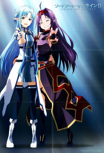Abec, A-1 Pictures, Sword Art Online, Asuna Yuuki, Yuuki Konno