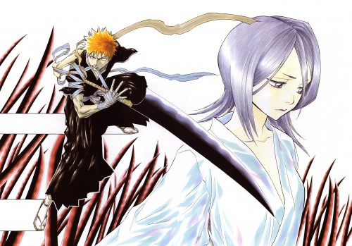 Kubo Tite, Bleach, All Colour But The Black, Rukia Kuchiki, Ichigo Kurosaki