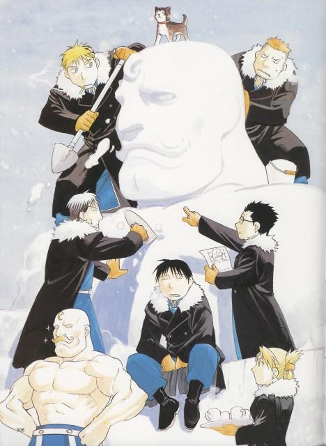Hiromu Arakawa, BONES, Fullmetal Alchemist, Roy Mustang, Kain Fuery