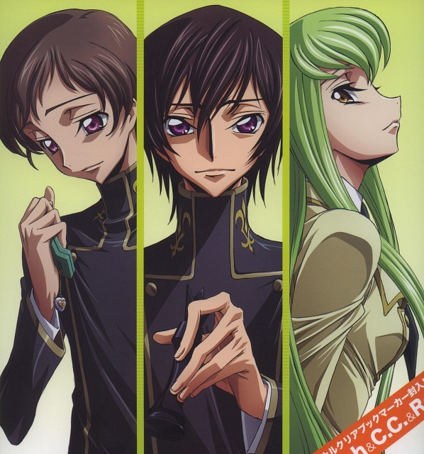 Takahiro Kimura, Sunrise (Studio), Lelouch of the Rebellion, Rolo Lamperouge, Lelouch Lamperouge
