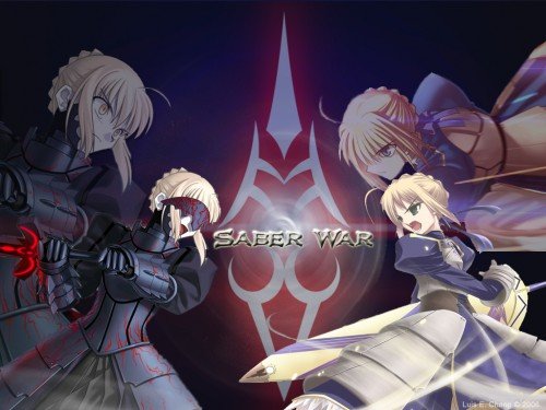TYPE-MOON, Fate/Hollow ataraxia, Saber Alter, Saber Wallpaper