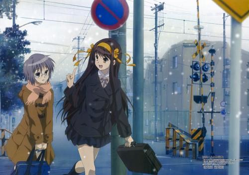 Shouko Ikeda, Kyoto Animation, The Melancholy of Suzumiya Haruhi, Yuki Nagato, Haruhi Suzumiya