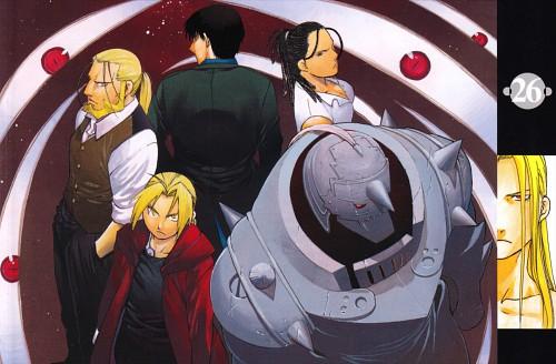 Hiromu Arakawa, BONES, Fullmetal Alchemist, Izumi Curtis, Roy Mustang
