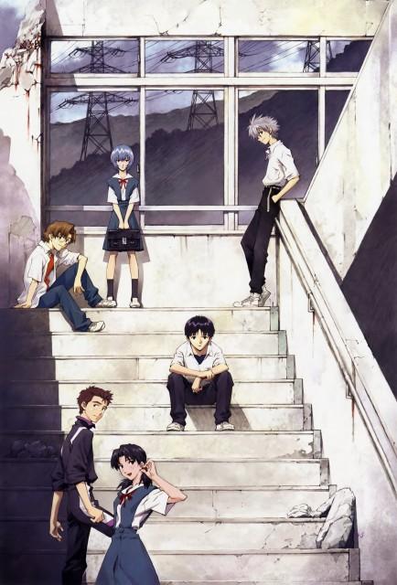 Yoshiyuki Sadamoto, Gainax, Khara, Neon Genesis Evangelion, Carmine