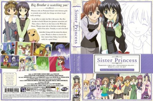 Naoto Tenhiro, Sister Princess, Sakuya, Haruka (Sister Princess), Shirayuki
