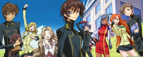 Takahiro Kimura, Sunrise (Studio), Lelouch of the Rebellion, Villetta Nu, Shirley Fenette Wallpaper