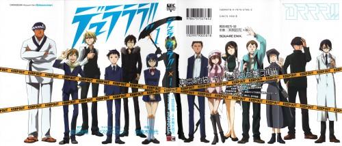 Suzuhito Yasuda, Brains Base, DURARARA!!, Erika Karisawa, Masaomi Kida
