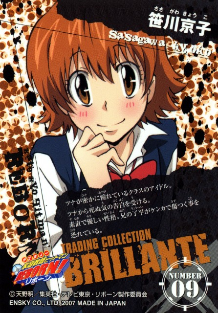 Akira Amano, Artland, Katekyo Hitman Reborn!, Kyoko Sasagawa, Katekyo Hitman Reborn!: Trading Collection
