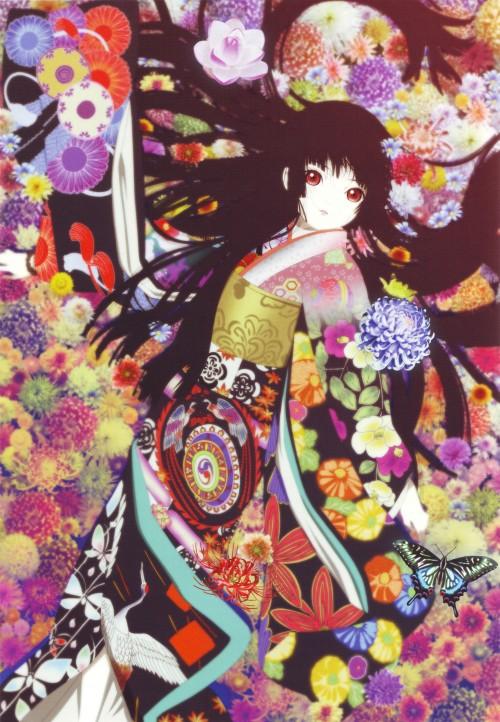 Miyuki Etoo, Studio DEEN, Jigoku Shoujo, Jigoku Shoujo Illustrations - Kyouka Suigetsu, Ai Enma