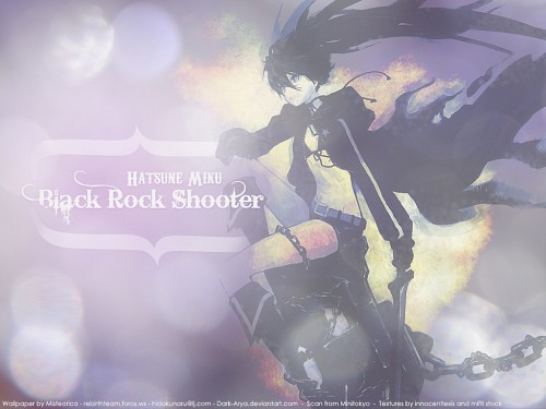 huke, Black Rock Shooter, Vocaloid, Black Rock Shooter (Character) Wallpaper