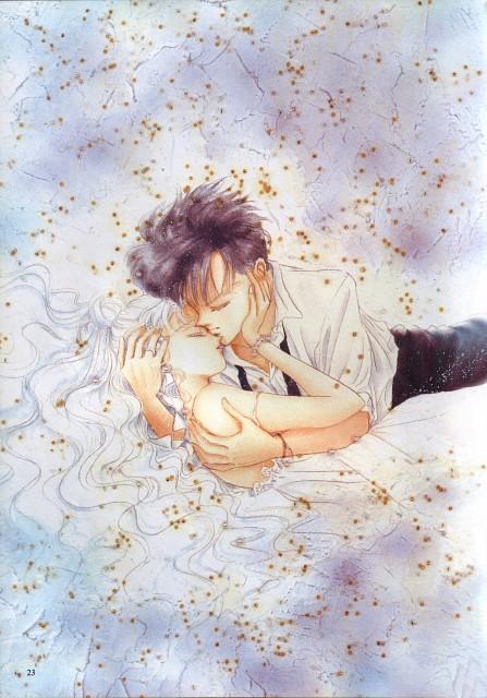 Naoko Takeuchi, Bishoujo Senshi Sailor Moon, BSSM Original Picture Collection Vol. IV, Mamoru Chiba, Usagi Tsukino
