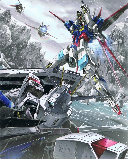 Tomo Shigeta, Sunrise (Studio), Mobile Suit Gundam SEED Destiny, DVD Cover