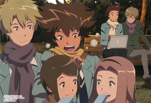 Toei Animation, Digimon Adventure, Taichi Yagami, Koushirou Izumi, Takeru Takaishi
