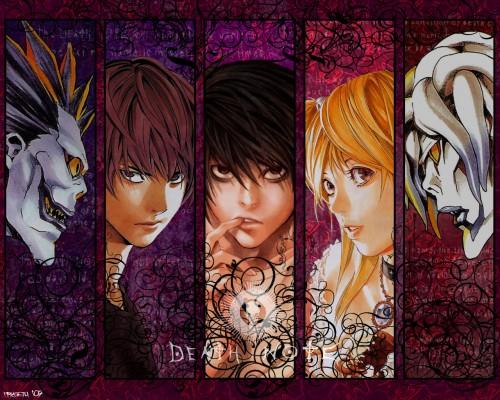 Takeshi Obata, Madhouse, Death Note, Rem, Misa Amane Wallpaper